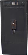 Надежный элегантный сейф Grey с электронным замком, с боксами для подзавода часов и ящичками для хранения драгоценностей.