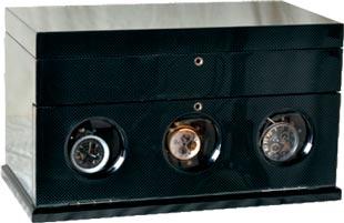Заводная шкатулка для 3-х механических часов с автоподзаводом.