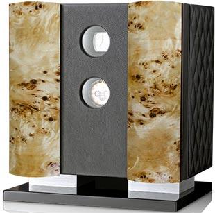 Заводная шкатулка для 6-ти часов с выдвижным ящиком для хранения часов и ювелирных изделий.