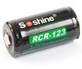 Li-ion Soshine 16340 700 мАч