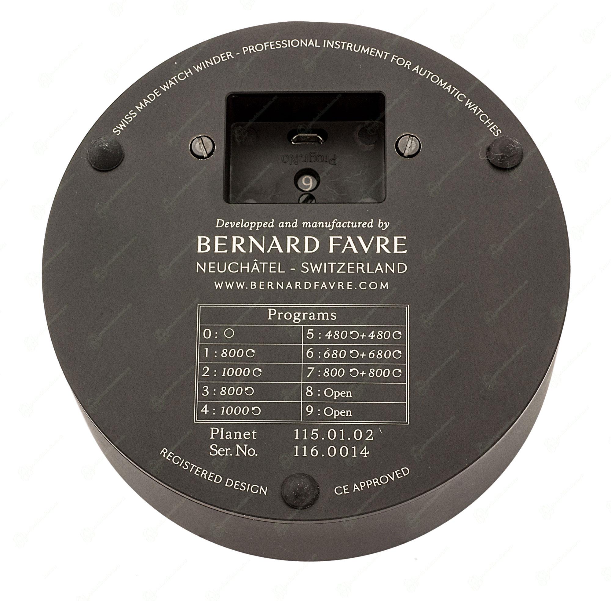 Bernard Favre Planet Silver
