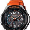 Коллекция G-Shock 13 наименований стоимостью от 4490 до 13990 руб. Casio G-Shock – это не только символ абсолютной точности и надёжности. Это олицетворение современной эпохи массового развития инновационных технологий, в частности, технологии производства часов. Несколько лет велись разработки и испытания технологии, благодаря которой достигнута абсолютная стойкость к механическим повреждениям (ударам, падениям, царапинам), а также попаданию воды и грязи. Линейка часов G-Shock представлена в широком ассортименте расцветок, форм, используемых материалов и размеров, кроме мужских моделей есть модели и для женщин