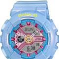 Коллекция Baby-G 2 наименования стоимостью от 6990 до 7156 руб. CASIO BABY-G - Прекрасно подходят к твоей активной жизни – спортивные, дерзкие и яркие. Кричащие цвета и стильные модные тенденции отражают типичный дизайн часов BABY-G, который в сочетании с высококачественными материалами превращает часы в объект пристального внимания.BABY-G от CASIO уже более 20 лет является эталоном стиля с углами и гранями: это идеальная модель для любительниц часов, всегда готовых окунуться в приключения и наслаждаться жизнью во всех ее проявлениях. BABY-G - дерзкие. И крутые. Как и ты.