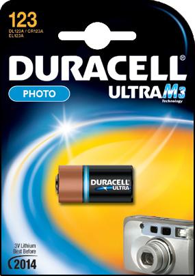 DURACELL CR123 ULTRA