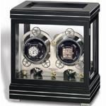 Шкатулка Rotalis II Black – это настоящее произведение искусства, способное поразить своей изысканностью и функциональностью любого обладателя часов Erwin Sattler