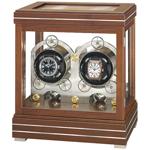 Шкатулка Rotalis II Walnut от Erwin Sattler – это роскошь для самых изысканных ценителей коллекционных наручных часов