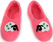 W.X. Тапочки-овечки розовые