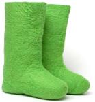 W.X. Валенки однотонные зеленые