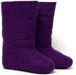 W.X. Валенки однотонные фиолетовые