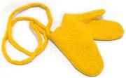 W.X. Варежки жёлтые
