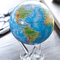 Коллекция Земной шар (Вращающиеся глобусы) 53 наименования стоимостью от 7750 до 42000 руб. Легкий компактный глобус, использующий для вращения магнитное поле земли и солнечную энергию, о подобном подарке мечтает каждый. Поставьте такой глобус на свой офисный стол, и весь мир окажется на расстоянии вытянутой руки. Осталось выбрать нужный материк, страну, город и… отправиться в путешествие. Символичный и очень необычный подарок. Не следует забывать: необычный подарочный глобус поможет ребёнку в учебе, а, возможно, раскрасит серые будни вашей прекрасной половины – нет ничего интереснее, чем загадывать новые страны и планировать совместные путешествия. Вы спрашиваете где купить необычные подарки? – В нашем Интернет магазине.