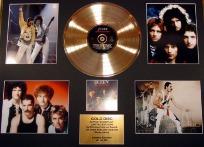 Gold Discs QUEEN gold