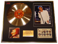 Gold Discs ROD STEWART Gold disc