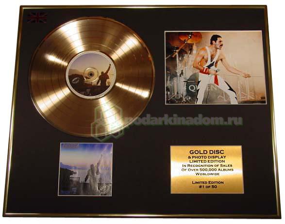 Gold Discs QUEEN Gold disc