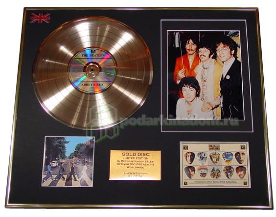 Gold Discs THE BEATLES 3