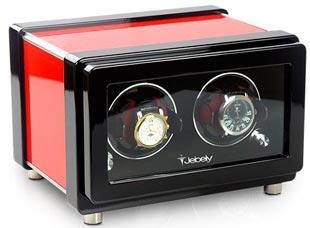 Шкатулка для 2-х механических часов с автоподзаводом.