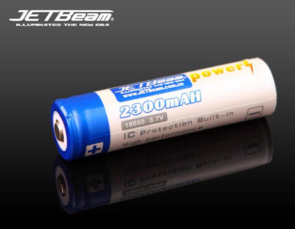 Li-ion Jetbeam 18650 2300 mAh