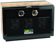Заводная шкатулка для 3 часов с местом для хранения 7 моделей Kadloo