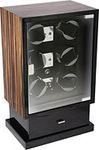 Шкатулка для подзавода шести механических часов + для хранения 8 часов