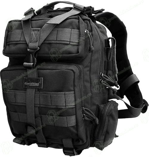 Тактический рюкзак kiwidition Tonga II черный (Back)