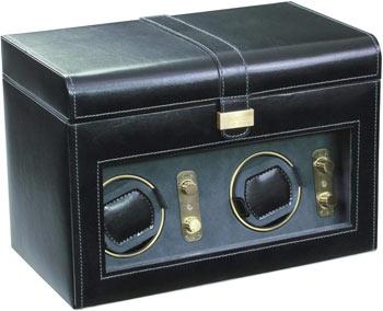 Шкатулка для подзавода 2 автоматических часов и хранения пяти кварцевых