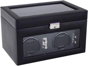 Кожанная шкатулка для подзавода и хранения часов