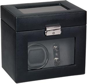 Шкатулка из кожи для подзавода и хранения часов