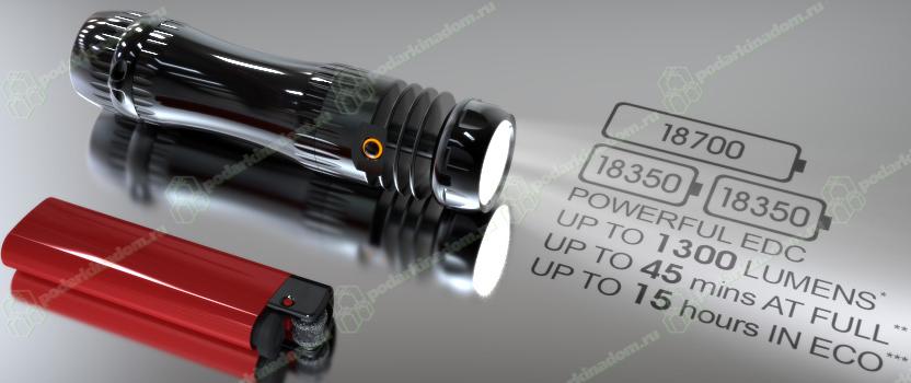 Уникальные светодиодные фонари LuxRC PodarkiNaDom.RU 16400.000