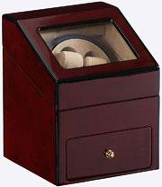 Шкатулка для хранения и завода механических часов бренда LuxeWood цвета «темный орех» создана лучшими инженерами специально для Вас из качественных материалов. Этот модуль станет замечательным подарком.