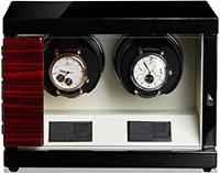 Шкатулка для часов с автоподзаводом для 2-х механических часов.