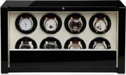 Шкатулка для подзавода 8-ми наручных часов. Выполнена из натурального дерева с отделкой