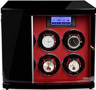 Шкатулка с автоподзаводом для 6х механических часов, работает от сети и батареек формата
