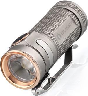 Olight S Mini Blasted Titanium