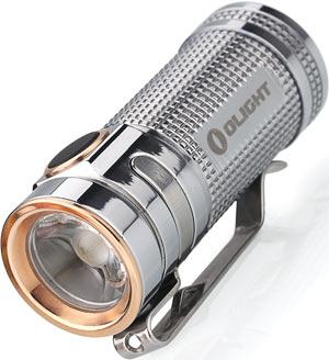 Olight S Mini Polished Titanium
