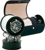 Дорожная электромеханическая шкатулка для подзавода автоматических часов.