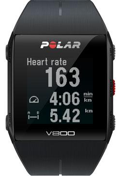 Polar V800 Black HR Combo