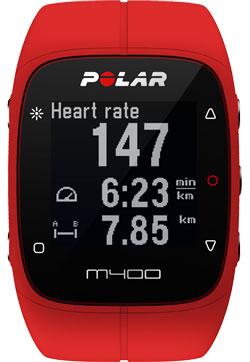 Polar M400 HR Red