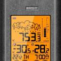 Коллекция Домашние цифровые метеостанции 66 наименований стоимостью от 1730 до 26990 руб. Высокоточные барометры и погодные метеостанции - безошибочный ориентир в мире природных явлений. Теперь подробная метеорологическая сводка на ближайшие сутки всегда в зоне доступа. Вне зависимости от перманентных колебаний термометра, точные показания прибора позволяют оставаться в курсе реального положения дел. Подключив внешние датчики устройства, вы получаете возможность отслеживать климатический диапазон сразу нескольких помещений.