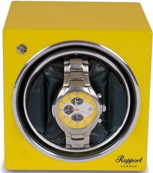 Модуль для подзавода 1 часов, выполнен в удобной кубовидной форме. Желтого цвета.