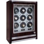 Элегантный шкафчик для подзавода девяти механических часов и дополнительным местом для хранения четырех