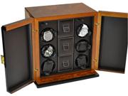 Шкатулка для часов для подзавода 6-ти часов, хранения часов и аксессуаров от Итальянской компании Scatola del Tempo