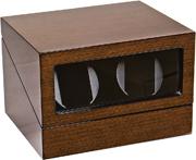 Деревянная шкатулка с электронным управлением, для подзавода 2 часов.
