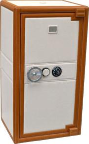 Элегантный сейф для наручных часов, отделан итальянской кожей. Семь дополнительных отсеков для хранения часов + ящики для документов и украшений