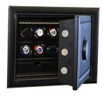 Сейф для хранения и подзавода часов. Можно разместить 8 моделей часов для подзавода.