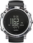 Suunto Core Brushed Steel Black Leather