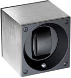 Модуль для автоподзавода 1 часов с отделкой из шлифованного алюминия. С возможность программирования через компьютер
