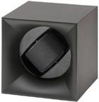 Шкатулка Свисс Кубик черного цвета, выполнена из пластика и работающая от батарейках.
