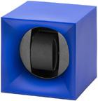 Шкатулка Свисс Кубик синего цвета, выполнена из пластика и работающая от батарейках.