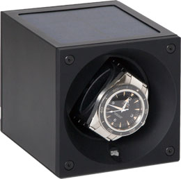 Первая шкатулка для наручных часов работающая от солнечной батареи. Лучший подарок владельцу «Теслы»! Алюминиевый корпус. Есть возможность запрограммировать режим завода индивидуально.