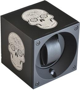 Бокс для завода 1 часов. Отделка алюминий. Модуль  из серии MasterBox ART лимитированная серия с возможность настройки через компьютер
